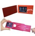 便携视频卡书-广泛适合商务交流、商务馈赠等场合,2.4寸屏