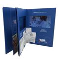 新宇S系列-4.3寸精装视频卡书(多页精装),适合各种商务场合、发布会、品牌推介、招商会等活动